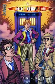Doctor Who The Forgotten #4 (2008) Dr David Tennant IDW Publishing comic book